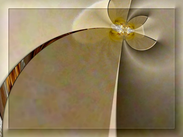 Contemporary Abstract Flower (Two)
