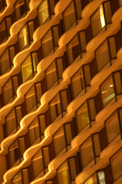 Yellow Architectural Abstract #2