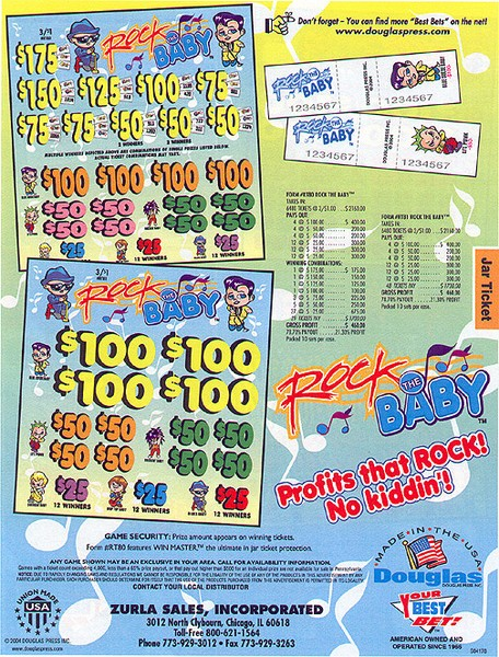 Rock The Baby game & ad