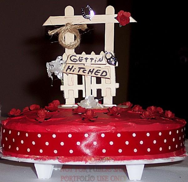 Gettin' Hitched Cake