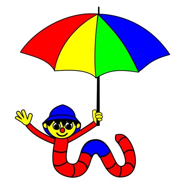 worm umbrella 1