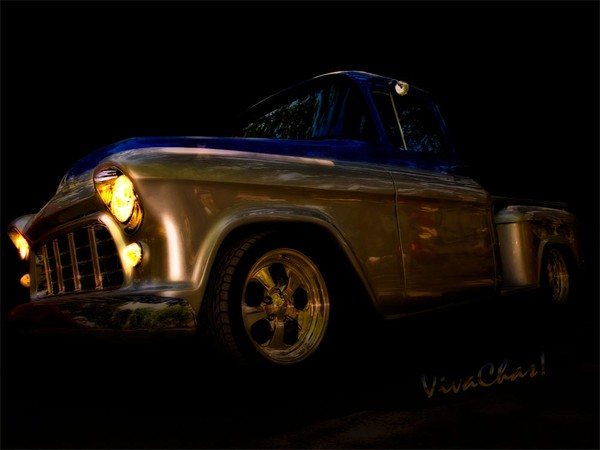 56 Chevy Pickup an it's a Baad One