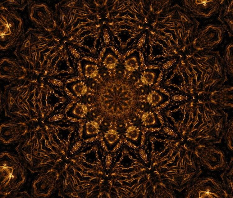 Golden Mandala 3
