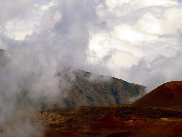 Lying Dormant in the Clouds II- Haleakala