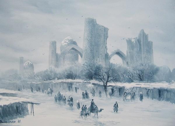 Winter in Samarkand