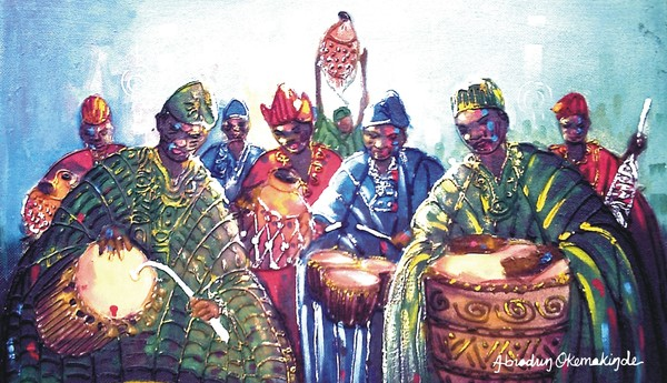 Ensable of drummers 3