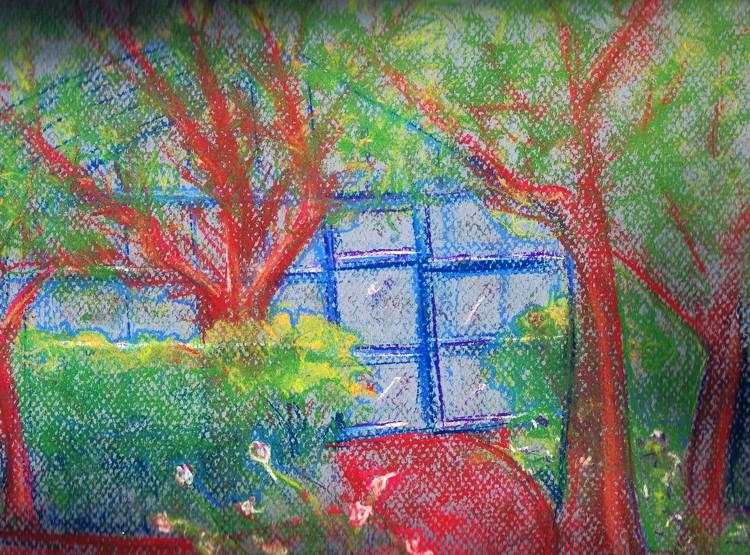 Landmarks Greenhouse Drawing
