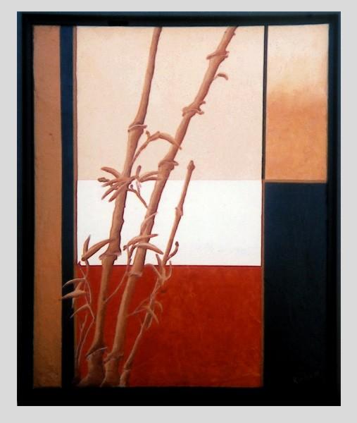Bamboo Mosaic #1