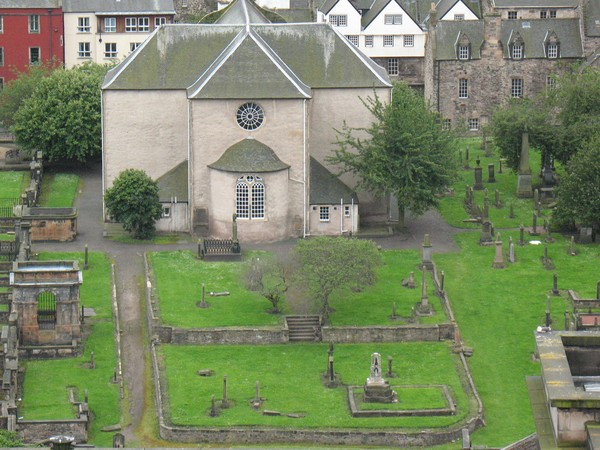 Scottish Church & Graveyard