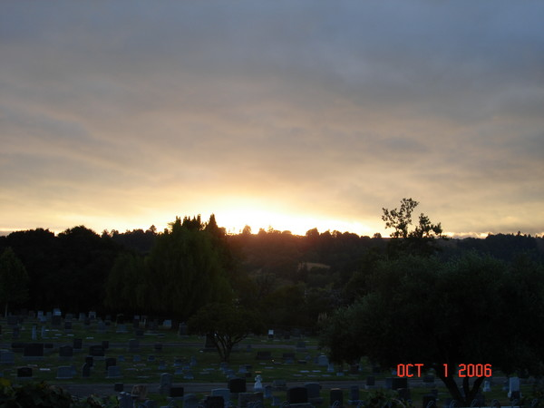 Sunset on the Dead