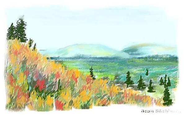 Copper Harbor Mountain View
