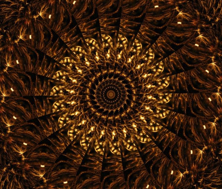 Golden Mandala 2