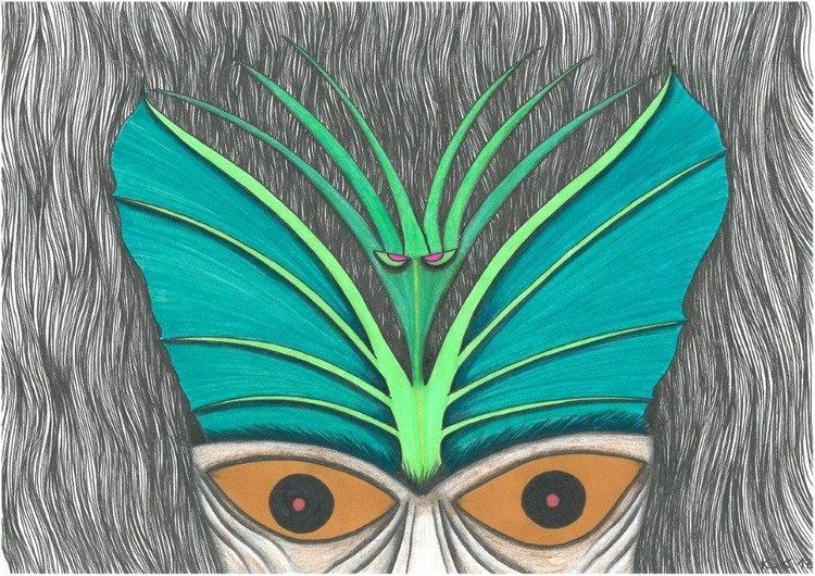 Original elf, amateur drawing, story from Fantasy world