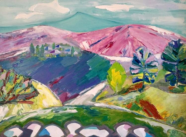 Baikal region. The Sayan mountains