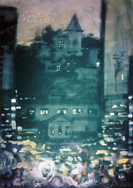 Getúlio Vargas -JF- at night