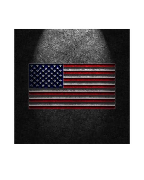 American Flag Stone Texture