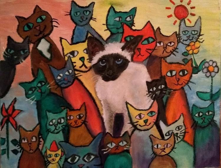 Pet Portrait Cats