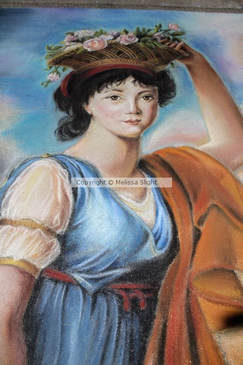 Princess Eudocia Galitzine as Flora in Chalk