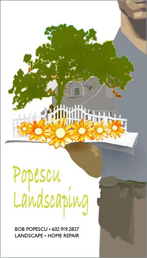 Bob's Landscaping Logo