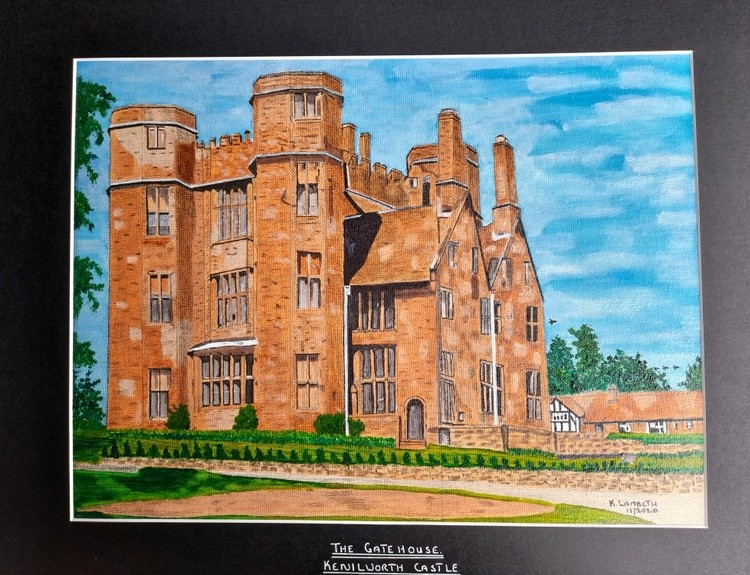 The  Gatehouse,  Kenilworth  Castle
