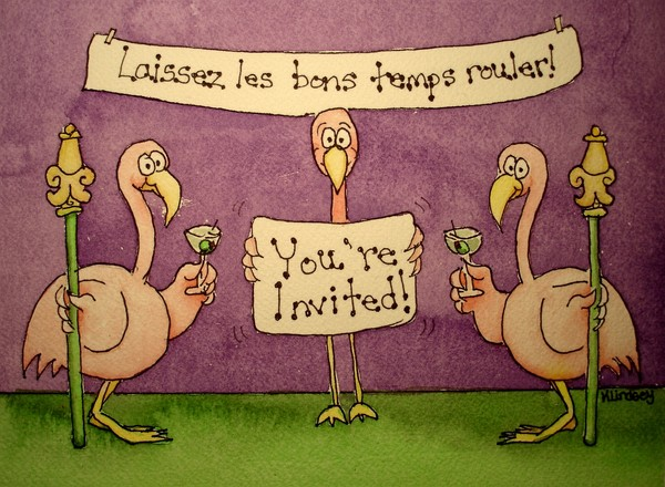 Flamingo:  Invitation