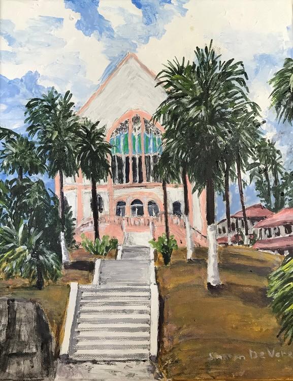 Balboa Union Church Panama Canal Zone