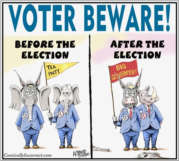 Voter Beware (Cartoon)