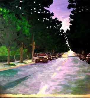 Charles Village Evening #1