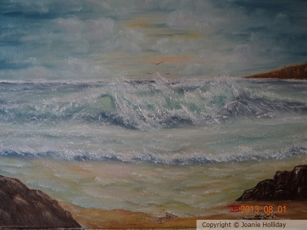 INCOMING WAVE-OIL