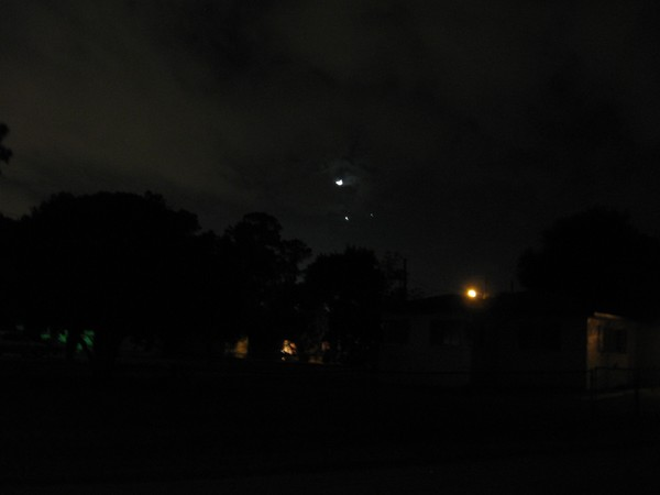 Venus and Jupiter 7:36 PM 12-01-08