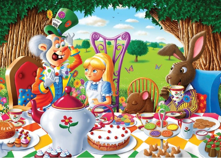 The Mad Hatter's Tea Party, (Alice In Wonderland)