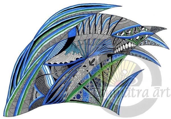 Sea Blue Fish