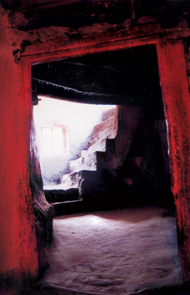 Sumdo Monastry-Stairs2