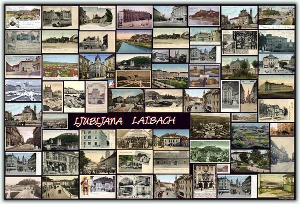 LJUBLJANA  LAIBACH (Old Photos & Postcards)