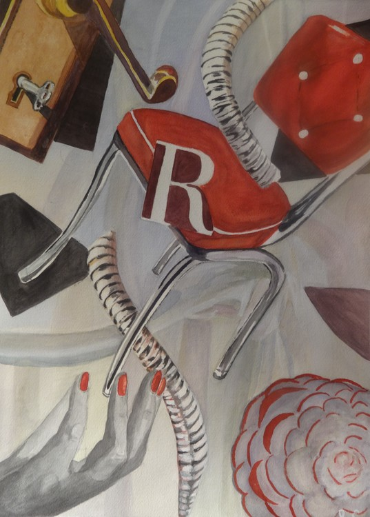 R for red