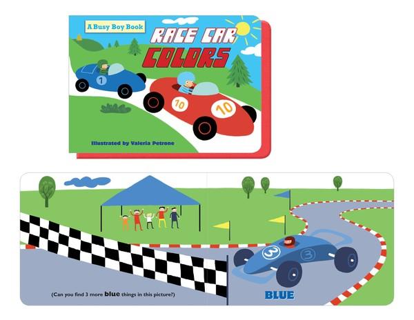 Race Cars Colors
