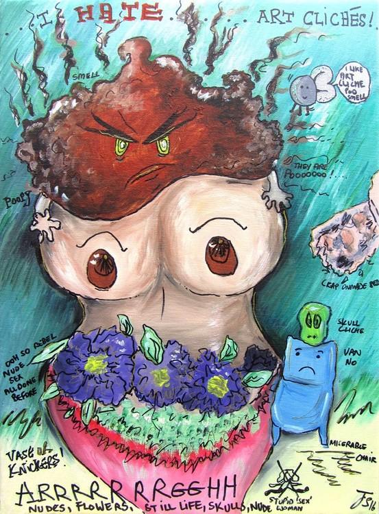 I hate Art Cliche (Acrylic version)