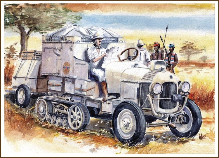 The Black Cruisade 1924 - 1925
