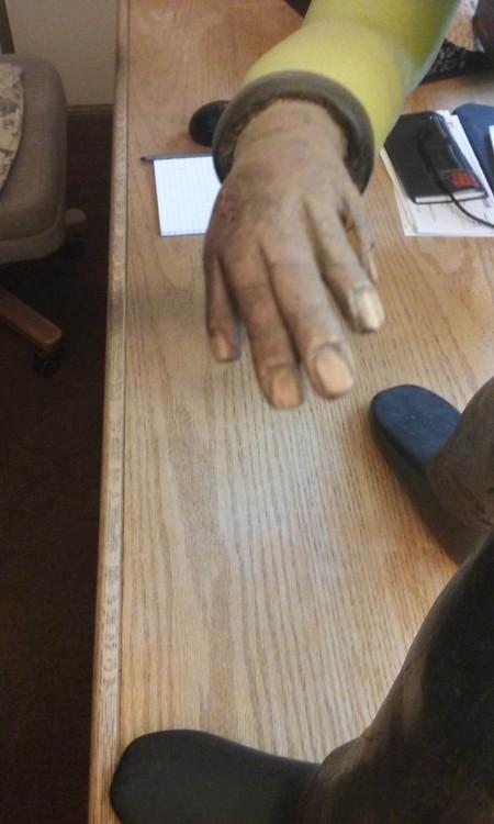 Mr Bo's right hand