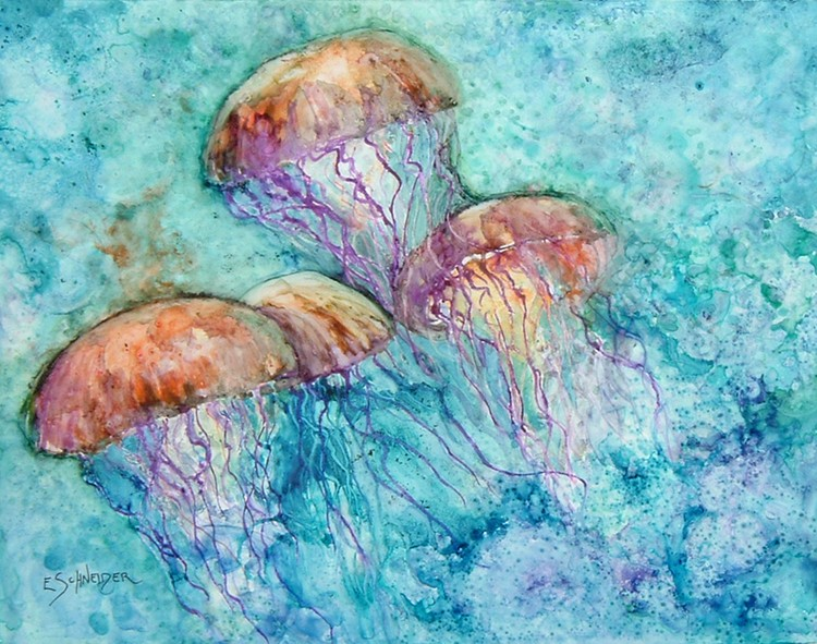 Underwater ballerinas