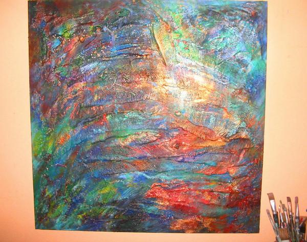 Work In Progress by Lorraine G Huber
