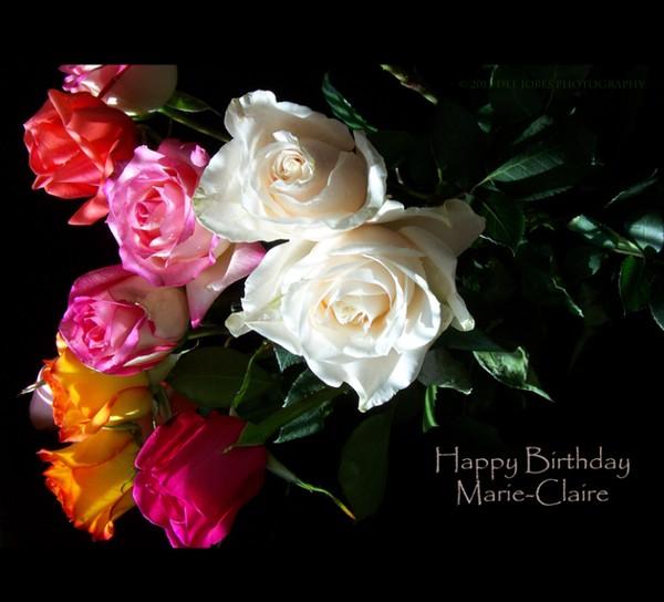 Happy Birthday Marie-Claire