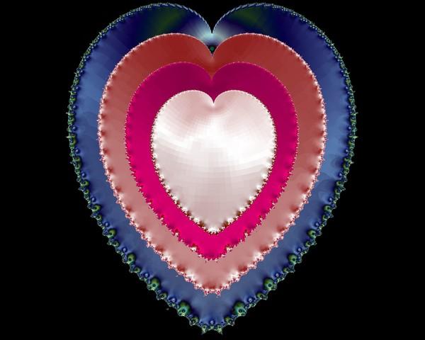 Multiple Satin Hearts