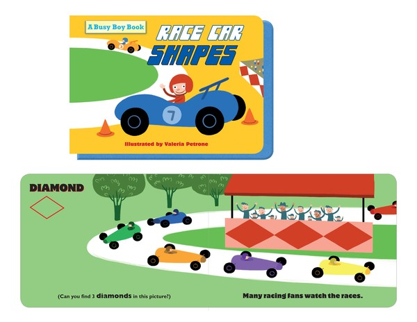 Race Cars Shapes