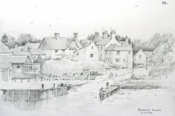 Walberwick slipway Suffolk