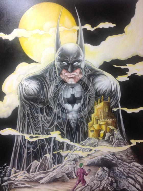 Batman Homage Cover