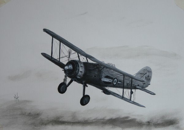 Glosters biplane fighter
