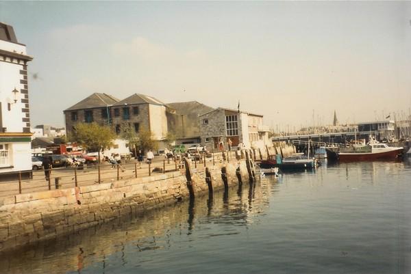 Plymouth Harbor Cornwall