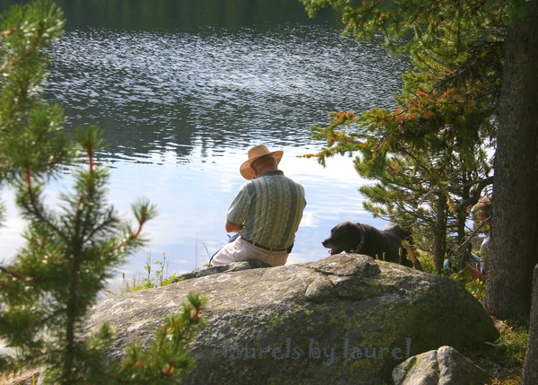 Contemplation: A Man and his Dog