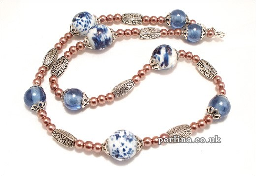 Anna Molly Pearl Necklace
